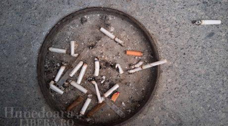Mucurile de ţigară şi ambalajele alimentare, printre cei mai des întâlniţi poluanţi în ape şi zone de coastă (studiu)