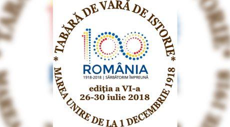 Începe TABĂRA DE VARĂ DE ISTORIE la Hunedoara