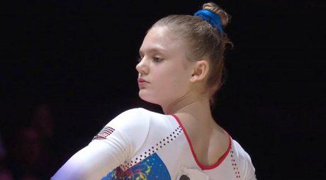 Denisa Golgotă, noua stea a gimnasticii românești
