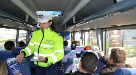 Poliția Rutieră, campanie în rândul elevilor hunedoreni