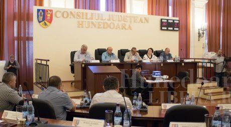 Ordinea de zi a ședinței Consiliului Județean Hunedoara din data de 24 septembrie 2018