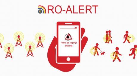RO-ALERT va fi testată în județul Hunedoara