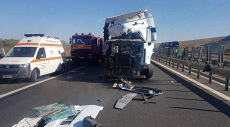Breaking News: IMPACT NIMICITOR pe autostrada A1 Sibiu-Deva
