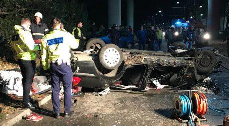 Accident MORTAL în vestul țării. Doi suporteri au murit