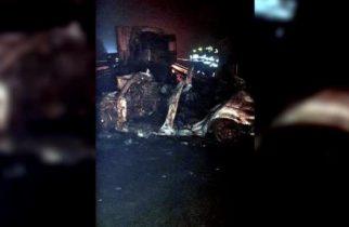 ACCIDENT CUMPLIT în Bihor: Trei tineri au murit arși de vii