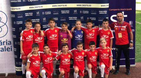 Juniorii C.S. CFR Simeria – 2008 primul loc în grupă la Cupa Centenarului Marii Uniri