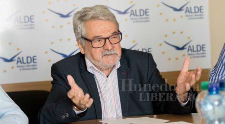 Mircea Ioan Moloț, candidat ALDE la șefia Consiliului Județean