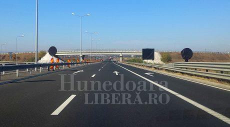 Trafic restricționat pe autostrada A1