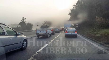 INFOTRAFIC: Restricții de circulație luni, pe autostrada A1 Sibiu-Deva