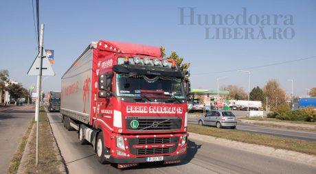 Restricții de circulație pentru autocamioane în Ungaria, pe 1 noiembrie