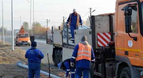 LUMINĂ pe cel mai periculos sector al șoselei Hunedoara-Sântuhalm