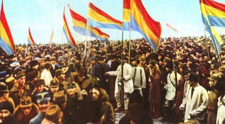 Hunedorenii la Marea Adunare Națională de la Alba Iulia