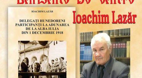 Lansare de carte – Ioachim Lazăr