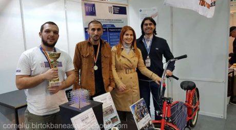 Hunedoara: O bicicletă unicat şi un cub din leduri, premiate la Salonul Naţional de Inventică pentru Tineret