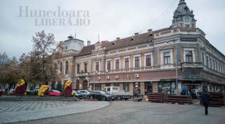 Centrul municipiului Deva, reamenajat cu fonduri europene