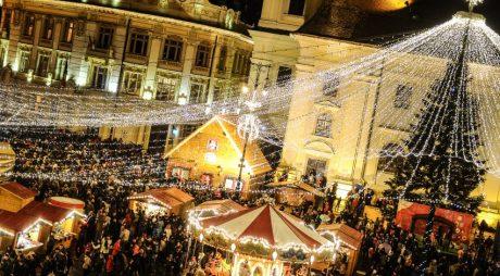 Cum va arăta Bradul de Crăciun din Piața Mare în 2018