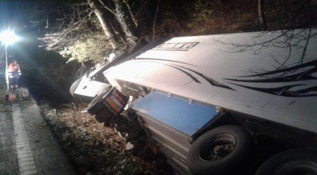 FOTO. Accident rutier MORTAL pe DN7 între Leşnic şi Săcămaş