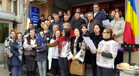 Centenarul Marii Uniri  a fost  marcat de angajații Primăriei Municipiului Deva