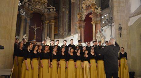 """Diploma """"Gold Band"""" pentru corul ORFEU din Deva"""