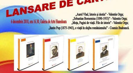 Cărți despre fruntași ai Unirii, scrise de doi hunedoreni