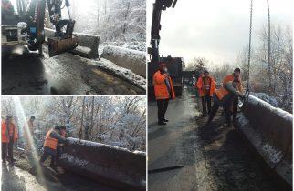 Restricții de circulație pe șoseaua Deva-Lugoj