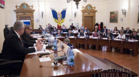 Ședință extraordinară a Consiliului Județean Hunedoara, joi, 4 aprilie