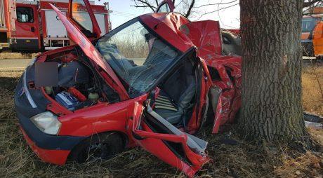 FOTO. Accident grav în vestul țării