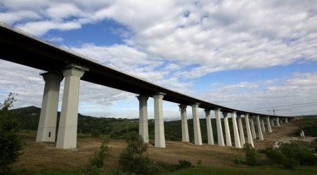 Cel mai înalt viaduct din România este pe A1 Deva-Sibiu