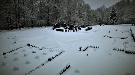 Sarmizegetusa Regia, acoperită de zăpadă – Galerie Foto