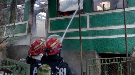 Breaking News: Un bărbat a murit într-un incendiu produs în satul Merișor