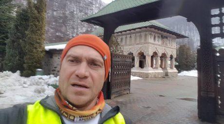 Avram Iancu a rămas fără sania cu care a plecat să se antreneze