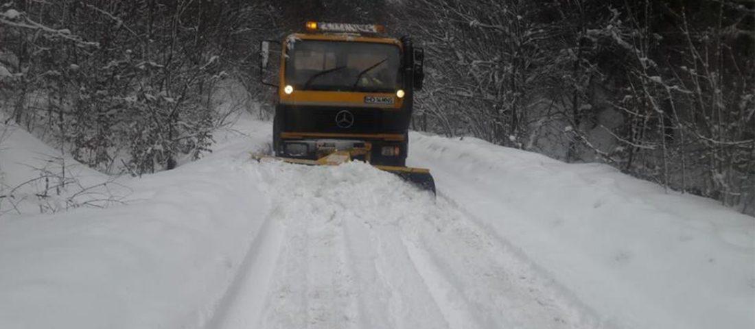 Județul Hunedoara, din nou sub ninsori