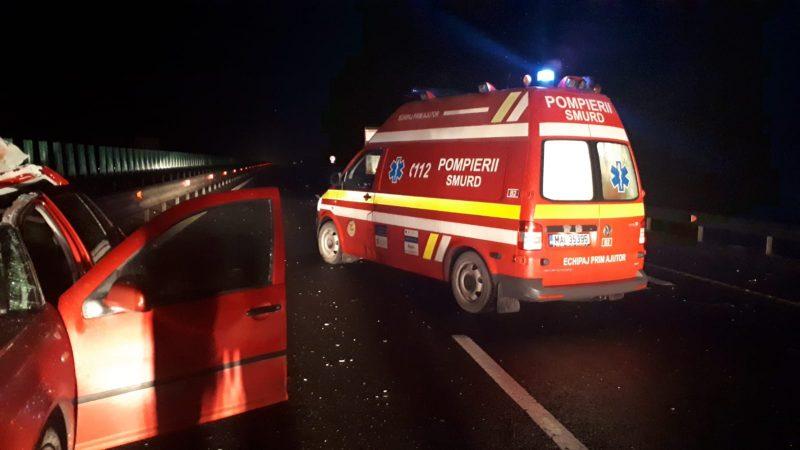 smurd-accident-noaptea-autostrada-e1547090301842