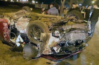 Accident grav în vestul țării. Patru persoane, printre care şi doi copii, au fost rănite