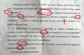 FAZA ZILEI: Epistola lui Marcel Goia către hațegani