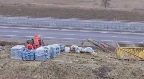 PROBLEME pe Autostrada A10, între Aiud și Turda
