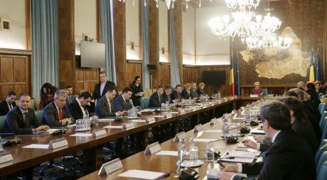 Ce proiectele de acte normative vor fi discutate astăzi în şedinţa Guvernului României