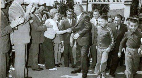 Ultima vizită a cuplului Ceaușescu în județul Hunedoara