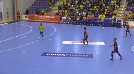 Futsal: Autobergamo Deva, învinsă în deplasare