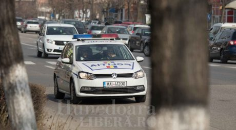 Hunedoara: Trei persoane depistate că au încălcat legea circulației