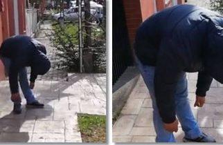 VIDEO: Zombie în Complexul Studențesc din Timișoara. Tânăr paralizat de droguri pe stradă
