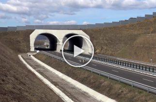 VIDEO: Primul ecoduct construit în România