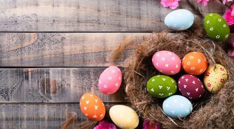 Paște 2019. Cum vopsești ouăle. Idei ușor de pus în practică