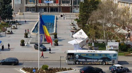 DEVA: Primele imagini cu noile autobuze pe traseu