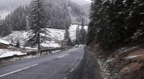 S-a întors iarna în Transilvania. Avertizare pentru șoferi