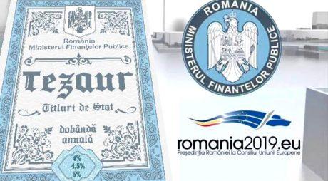 Ministerul Finanțelor Publice continuă emisiunile de titluri de stat pentru populație
