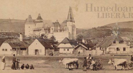 A fost publicată una dintre cele mai vechi fotografii cu Hunedoara