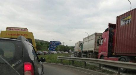 Trafic restricționat pe A1 Deva – Sibiu