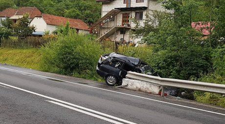 FOTO: ACCIDENT MORTAL la Bănița