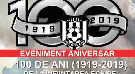 100 de ani de la înființarea echipei Jiul Petroșani